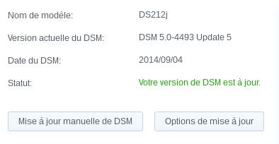 DSM 5.0 Update